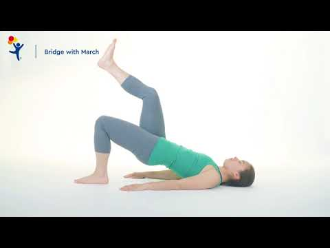 Core Exercise: Bridge with March
