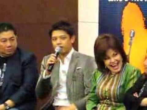 Hady Mirza at Press Conference