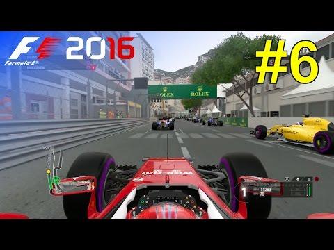 F1 2016 - Let's Make Kimi World Champion Again #6 - 100% Race 'Monaco'