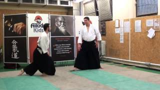 katadori menuchi iriminage 2 nd variation [AIKIDO]  basic technique