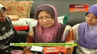 Baixar Ibu Khairul Amri berterima kasih kepada Malaysia