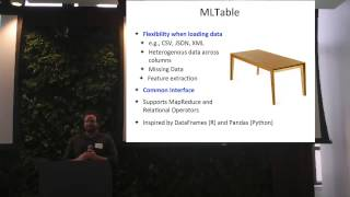 Apache Spark:  Distributed Machine Learning using MLbase