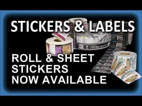 Stickers & Labels from Patterson Printing