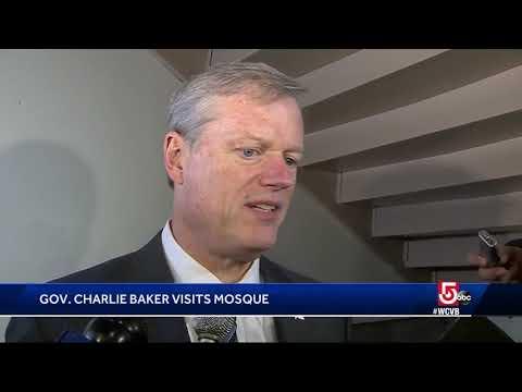 Massachusetts Republican Gov. Baker to visit Boston mosque