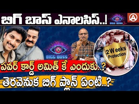 Why Kamal Haasan Gives 2 Weeks Eviction Free Card to Amit Tiwari?-Bigg Boss 2 Telugu-Namaste Telugu
