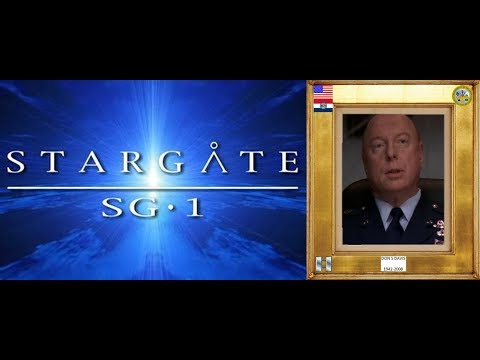 DON S DAVIS 1942-2008 (stargate SG-1) 1997-08