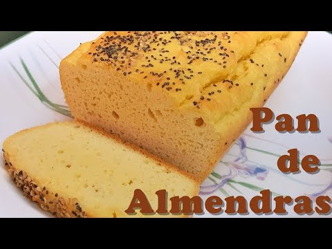 RECETA LOW CARB: PAN DE ALMENDRAS (KETO BREAD)