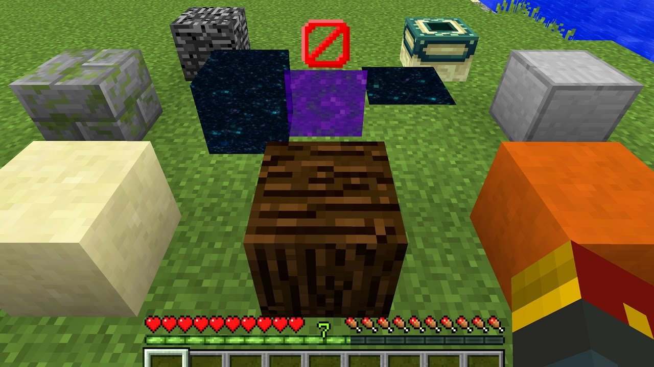 How to Obtain Secret Blocks in Minecraft (Only One Command)