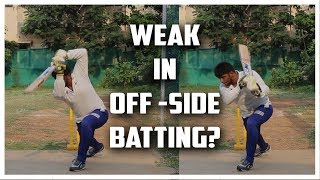 Off-side Dominant batting | Improve off-side batting | Nothing But Cricket