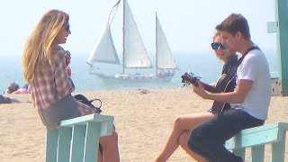 Funniest Music Prank on the Beach! thumbnail