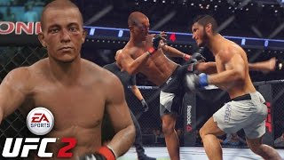 John Moraga Is A BEAST! What Did You Taunt For?!? EA Sports UFC 2 Online Gameplay