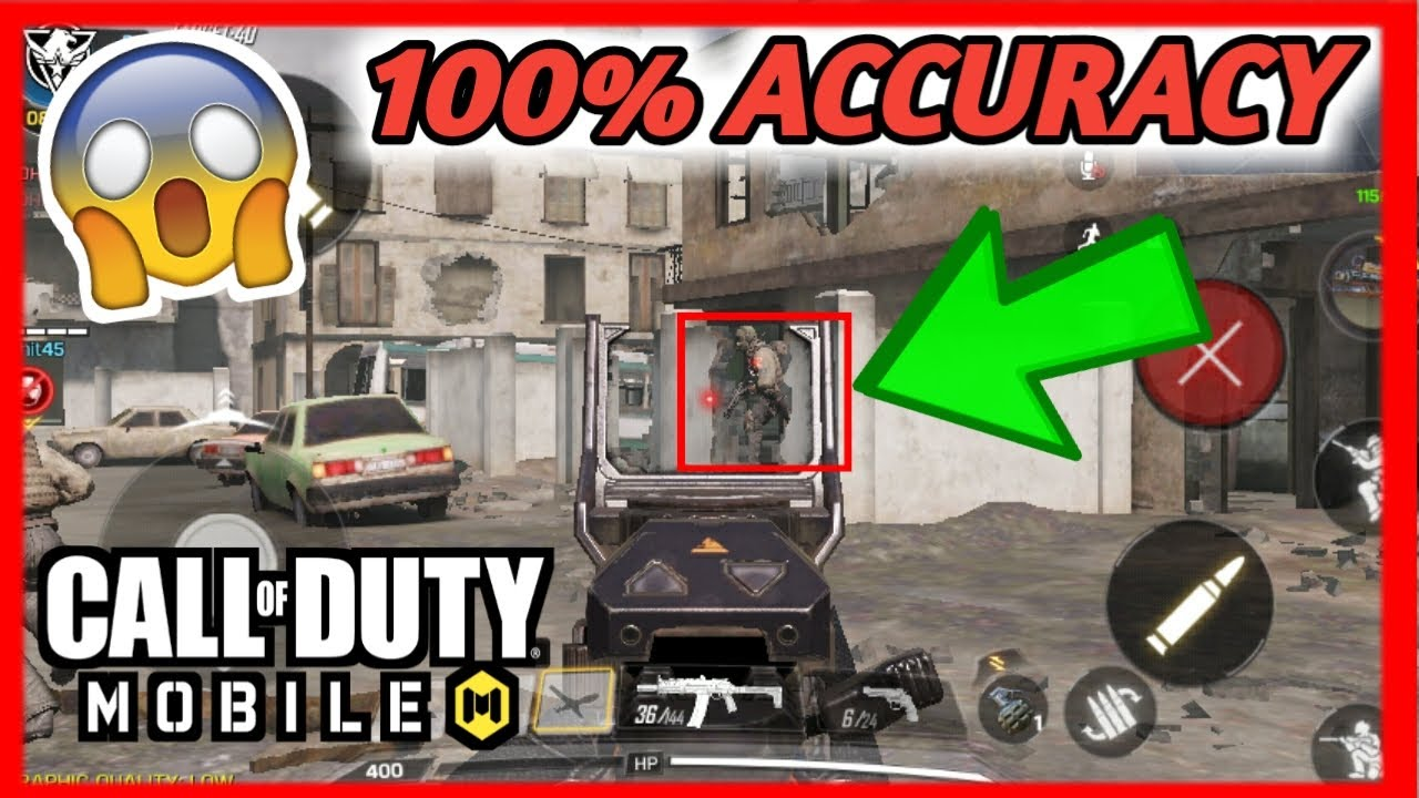 Aimbot hack! Call of duty Mobile -