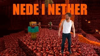 Nede i Nether (Blak cover)