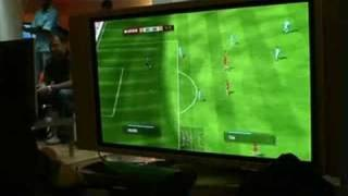Gamekyo - FIFA Soccer 09 Exclusive PS3 Gameplay
