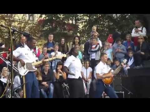 US Army Europe Band and Chorus performance at Lviv 21.09.2014