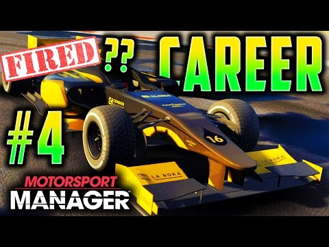 INSANE SCENES! TRYING NOT TO GET FIRED! - Motorsport Manager PC Career FULL GAME S2 Part 4