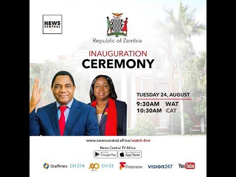 LIVE BROADCAST:  INAUGURATION CEREMONY OF THE 7TH PRESIDENT OF ZAMBIA - HAKAINDE HICHILEMA