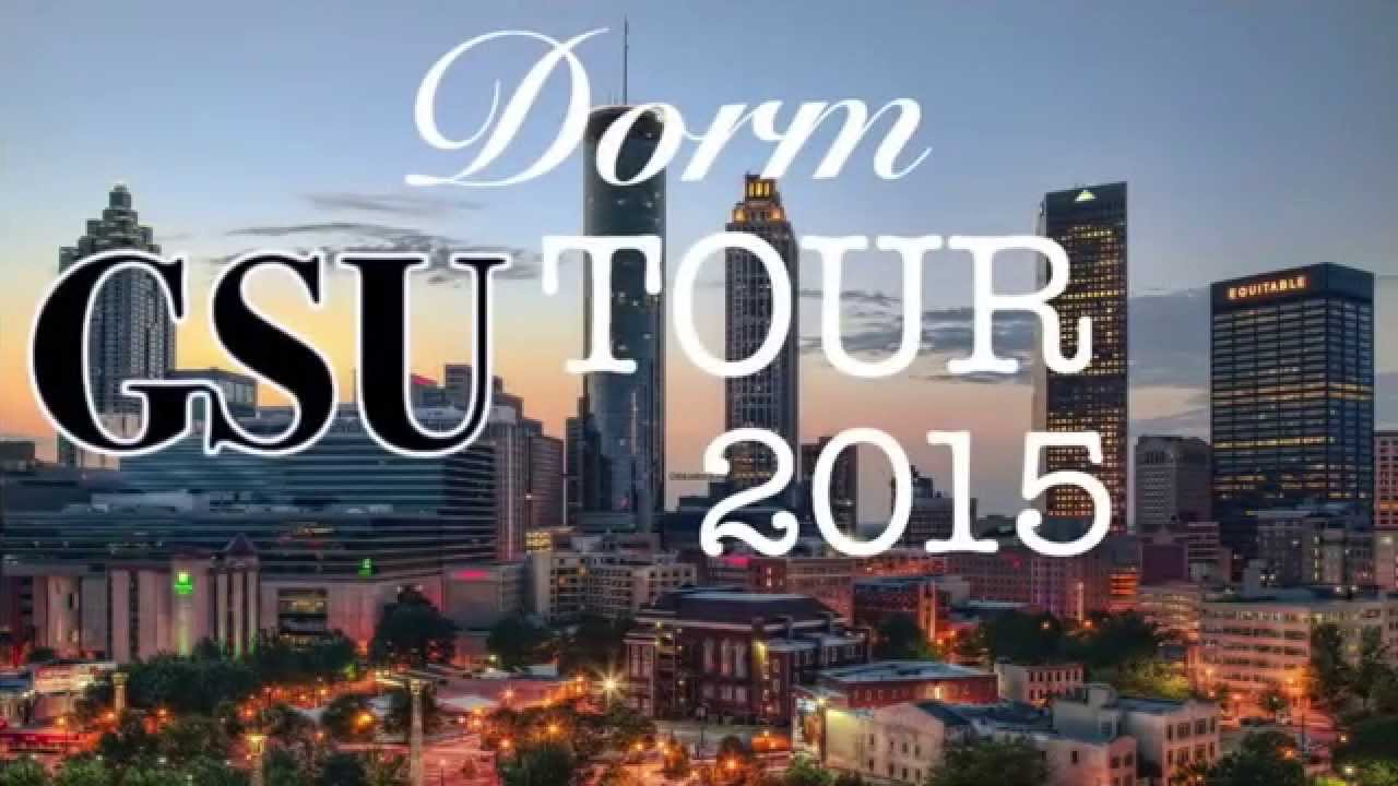 Georgia State University DORM TOUR 2K15+Welcome To My Channel Part 64
