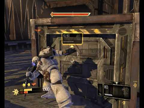 Warhammer 40000  Space Marine online gameplay (bolter melta) |
