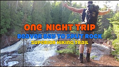 Beaver Bay to Split Rock River Overnight/Superior Hiking Trail