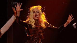 Lady Gaga - Bad Romance Live at The X Factor UK (December 6th 2009)