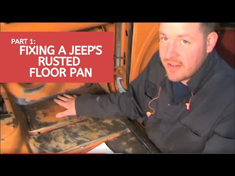 Video clip hay 1997 jeep tj floor pan rust removal and for 1994 jeep cherokee floor pans