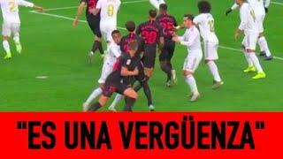 El gol anulado en el Madrid-Sevilla ELEVA la TENSIÓN de la retransmisión en COPE