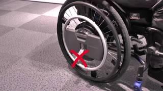 QUICKIE WheelDrive - Inbetriebnahme