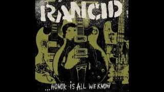 Rancid - Back Where I Belong / New Album