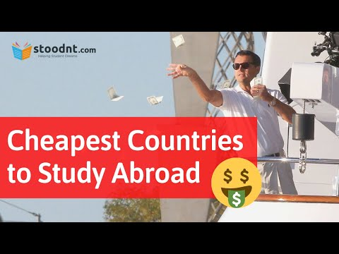 Cheapest Countries To Study Abroad || Study, Living Cost and Top Universities, Courses.