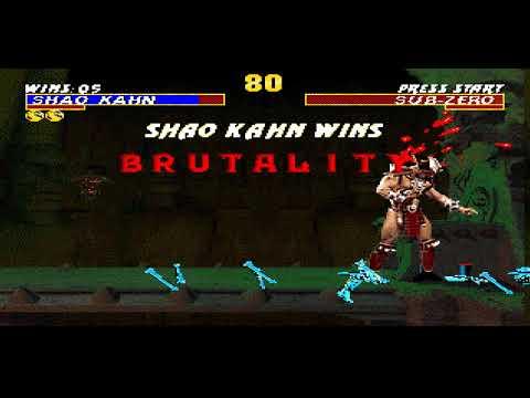 Полное прохождение Ultimate Mortal Kombat Trilogy - Shao Kahn (SEGA)
