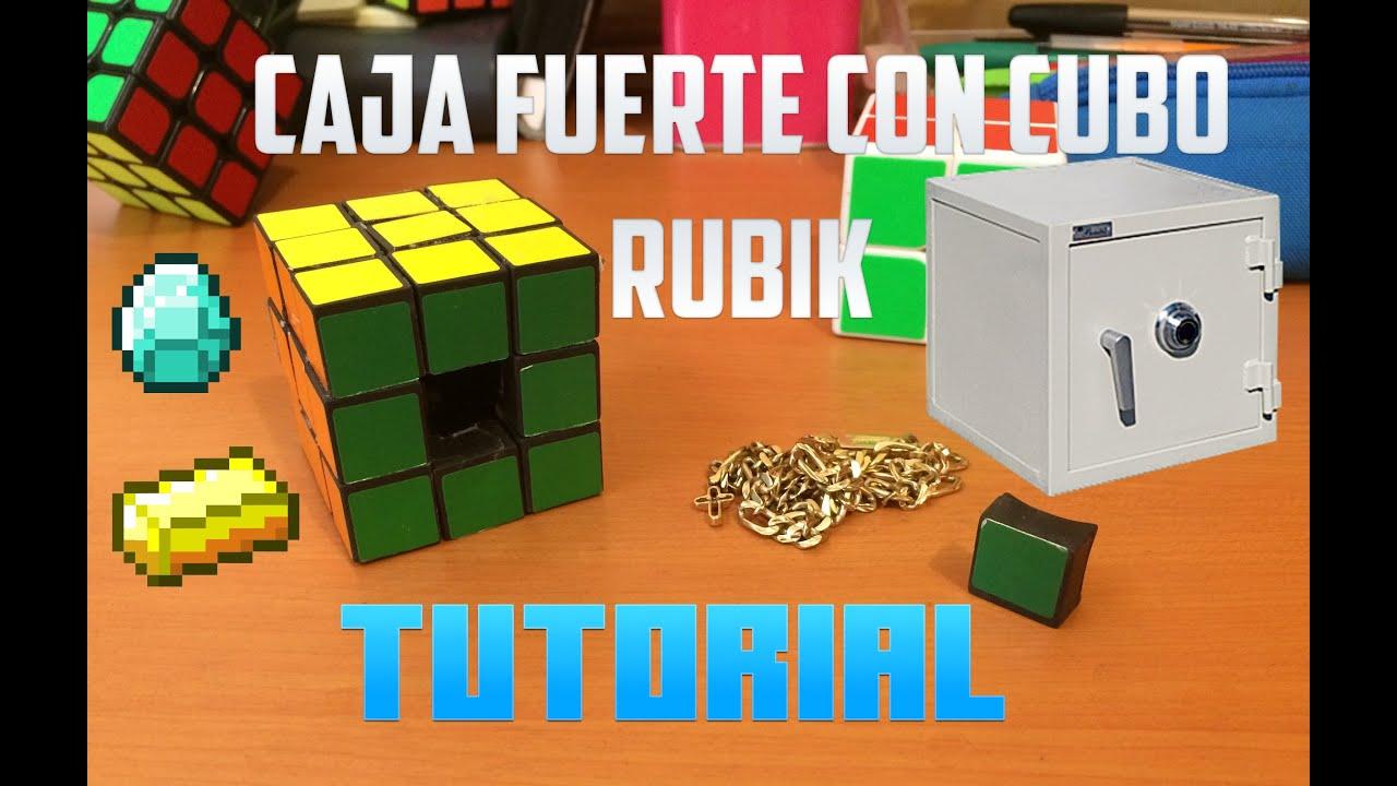 Como hacer una caja fuerte con cubo rubik magico - Como hacer una caja ...