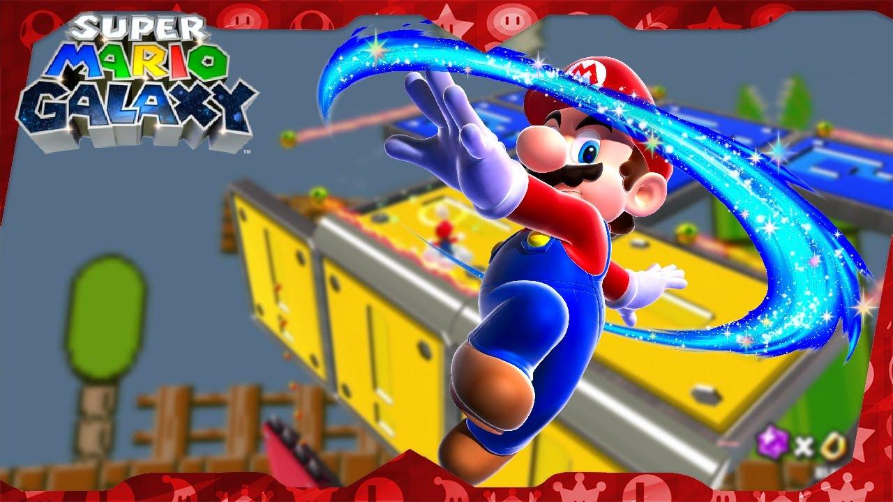 Super Mario Galaxy Walkthrough ᴴᴰ | Flipswitch Galaxy (All Stars)