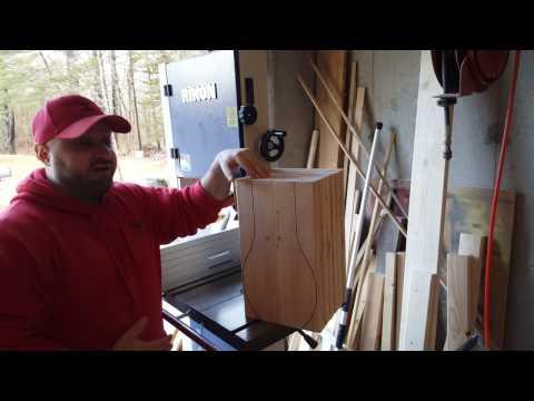 Tulip Table Base:  Cutting the tulip ball