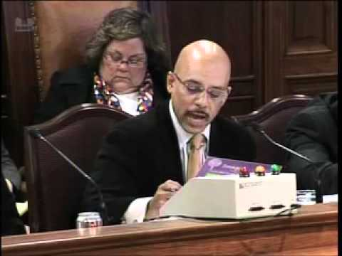 Sen. Hughes at Senate Appropriations Committee Education Budget Hearing
