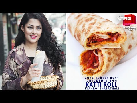 Rockin' Rolls | Syanko's Chicken and Egg Katti Roll | Coca-Cola Hunger Hunt | VMAG