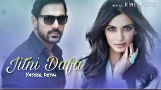 Jitni Dafa Dekhu Tujhe | New Lyrics Video | Music Series