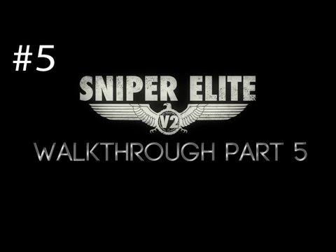 Sniper Elite V2 Walkthrough Part 5 Opernplatz [HD] (PC/PS3/360)