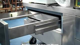 Used Delfield F2694c Low-profile Freezer Base Equipment Stand - Like New For Sale