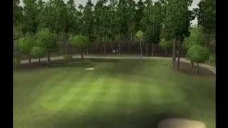 Tiger Woods PGA Tour 09 PS2 Gameplay