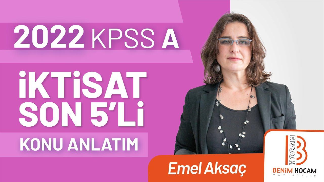 31) Emel AKSAÇ - Türkiye Ekonomisi - 2001 Güçlü Ekonomiye Geçiş Programı (2020)
