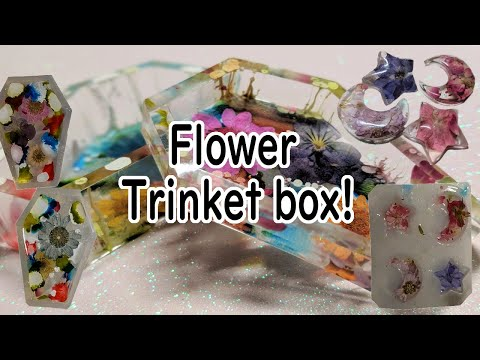 Resin coffin tutorial | Sophie and Toffee supplies | kawaii trinket box!!!