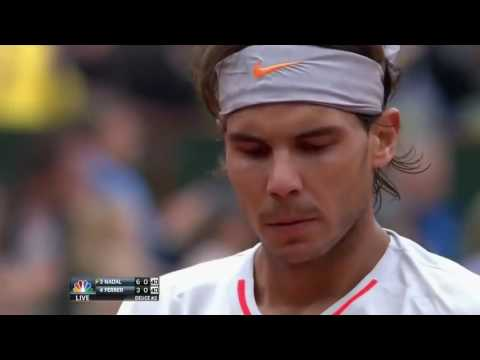 Rafael Nadal vs David Ferrer French Open 2013 Final Highlights   YouTube