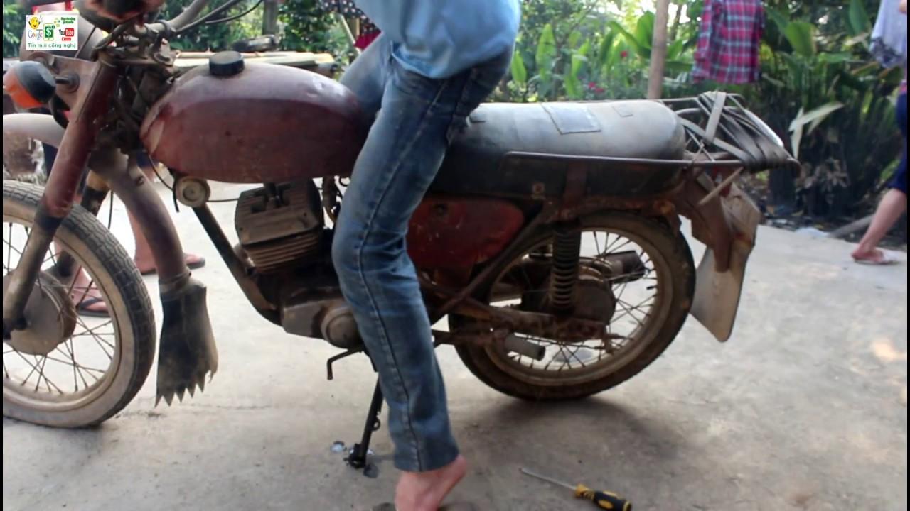 Xe máy cô tay minsk NGA ngố chiêm ngưỡng hình ảnh xe mới nhất