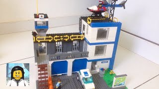 LEGO - Como Construir uma delegacia de Lego 2