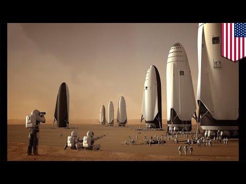 SpaceX to build Big Falcon Rocket at Los Angeles port - TomoNews