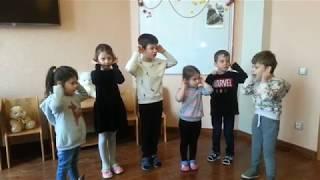 Фрагмент занятия в группе обучения разговорному осетинскому языку