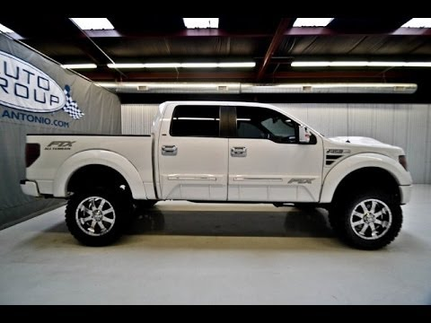 2011 Ford F150 Supercrew Tuscany Ftx Lifted Truck Youtube