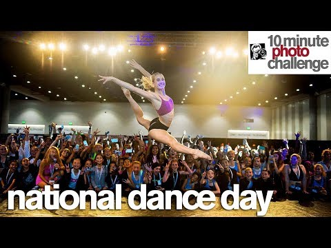 Bonus 10 Minute Photo Challenge Thrills Crowd for National Dance Day (Tate McRae)