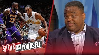 Kawhi joining Lakers & LeBron would be a 'weak move' — Jason Whitlock | NBA | SPEAK FOR YOURSELF